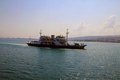 伊斯坦布尔市渡轮 库存照片