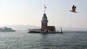 伊斯坦布尔市自然视图海 影视素材