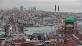 伊斯坦布尔市,自然视图,土耳其12月2016年, 股票录像