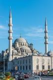 伊斯坦布尔新的清真寺  库存照片