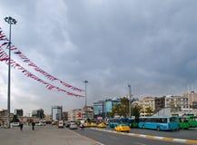 伊斯坦布尔方形taksim 免版税库存图片