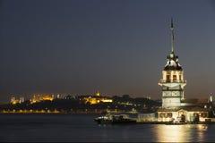 伊斯坦布尔未婚塔火鸡 库存图片