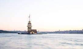 伊斯坦布尔未婚s塔火鸡 库存照片
