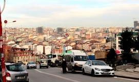 伊斯坦布尔横向 免版税库存照片