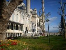 伊斯坦布尔清真寺蓝色 免版税库存照片