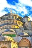 伊斯坦布尔清真寺 库存图片