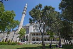 伊斯坦布尔清真寺suleymaniye火鸡 免版税库存图片