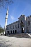 伊斯坦布尔清真寺sultanahmet 库存照片