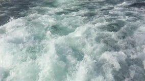 伊斯坦布尔由渡轮的bosphorus旅行 影视素材