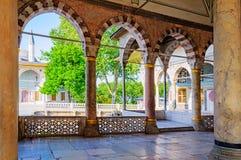 伊斯坦布尔的历史的中心。 免版税库存照片