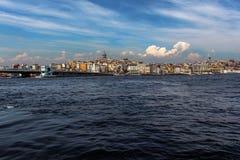 从伊斯坦布尔的风景 库存照片