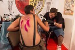 伊斯坦布尔纹身花刺大会 免版税库存图片