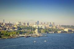 伊斯坦布尔美丽的景色  免版税库存图片