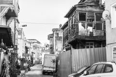 伊斯坦布尔老区  库存照片