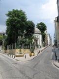 伊斯坦布尔老街道 库存照片