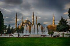 伊斯坦布尔蓝色清真寺  库存图片