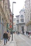伊斯坦布尔街道 火鸡 免版税库存照片