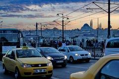 伊斯坦布尔街道 库存照片
