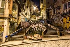 伊斯坦布尔街道 免版税库存图片