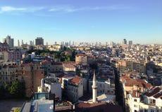 伊斯坦布尔视图 图库摄影