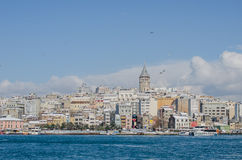 伊斯坦布尔视图 免版税图库摄影