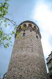 伊斯坦布尔视图 Galata塔 库存图片