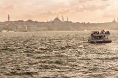 伊斯坦布尔视域  免版税库存照片