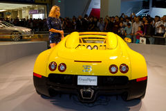 伊斯坦布尔车展2012年 免版税库存图片