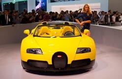 伊斯坦布尔车展2012年 免版税库存照片