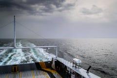 伊斯坦布尔轮渡海运输-土耳其 免版税库存图片