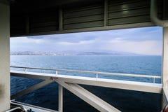 伊斯坦布尔轮渡海运输-土耳其 库存图片