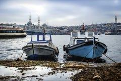 伊斯坦布尔运送(叫在土耳其语的vapur) 库存照片