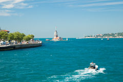 伊斯坦布尔都市风景 免版税图库摄影