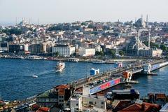 伊斯坦布尔都市风景 库存照片