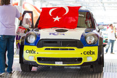 35 伊斯坦布尔集会 免版税库存照片