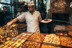 伊斯坦布尔餐馆 图库摄影