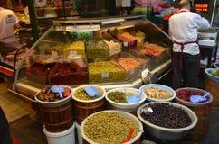 伊斯坦布尔香料义卖市场 免版税库存照片