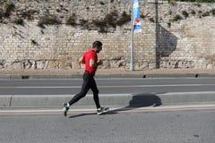 38 伊斯坦布尔马拉松 库存图片
