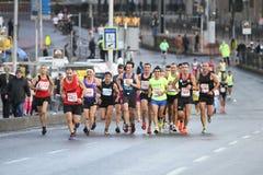 38 伊斯坦布尔马拉松 免版税图库摄影