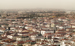 伊斯坦布尔,土耳其天线  图库摄影