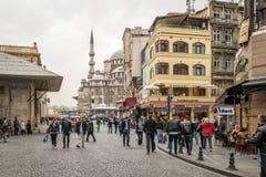 伊斯坦布尔,土耳其街道  免版税库存图片