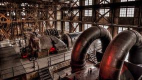 伊斯坦布尔,土耳其, 2013年3月2日:Santral伊斯坦布尔,电发电器/能源厂博物馆在伊斯坦布尔 库存图片