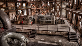 伊斯坦布尔,土耳其, 2013年3月2日:Santral伊斯坦布尔,电发电器/能源厂博物馆在伊斯坦布尔 库存照片