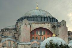 伊斯坦布尔,土耳其-圣索非亚大教堂 库存照片