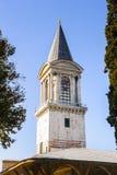 伊斯坦布尔,土耳其- 2013年10月23日:正义塔在秒 库存图片