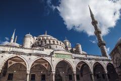 伊斯坦布尔,土耳其- 2016年5月06日:蓝色清真寺, & x28; Sultanahmet加州 库存照片