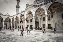伊斯坦布尔,土耳其- 2015年4月14日: 库存图片