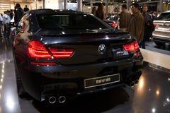 伊斯坦布尔,土耳其- 11月11,2012 :伊斯坦布尔车展2012 BMW M6 免版税库存图片