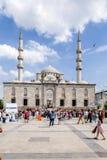 伊斯坦布尔,土耳其 清真寺Yeni Cami, 1663 库存图片