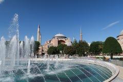 伊斯坦布尔,土耳其Oldtown的Hagia Sphia博物馆  免版税库存照片